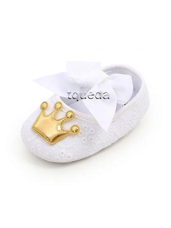 Balerinas para bebés modelo coronita
