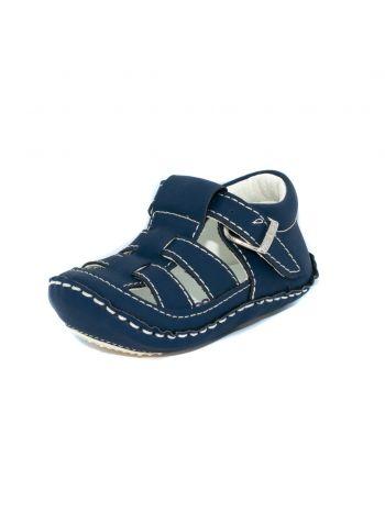 Sandalias para bebés color azul